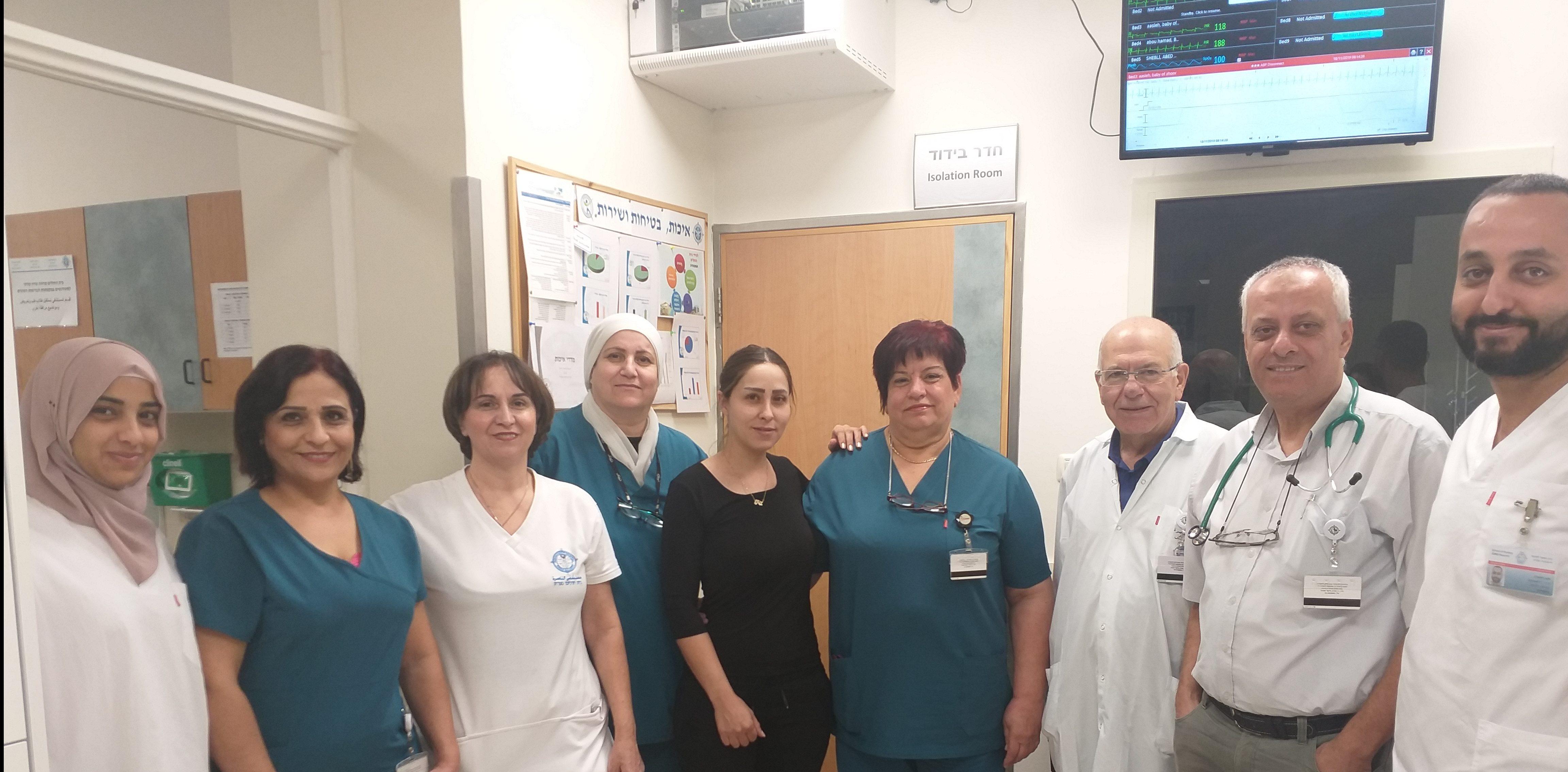 حصول وحدة الخدّج في مستشفى الناصرة على إمتياز وزارة الصحة للسّنة الرّابعة على التّوالي