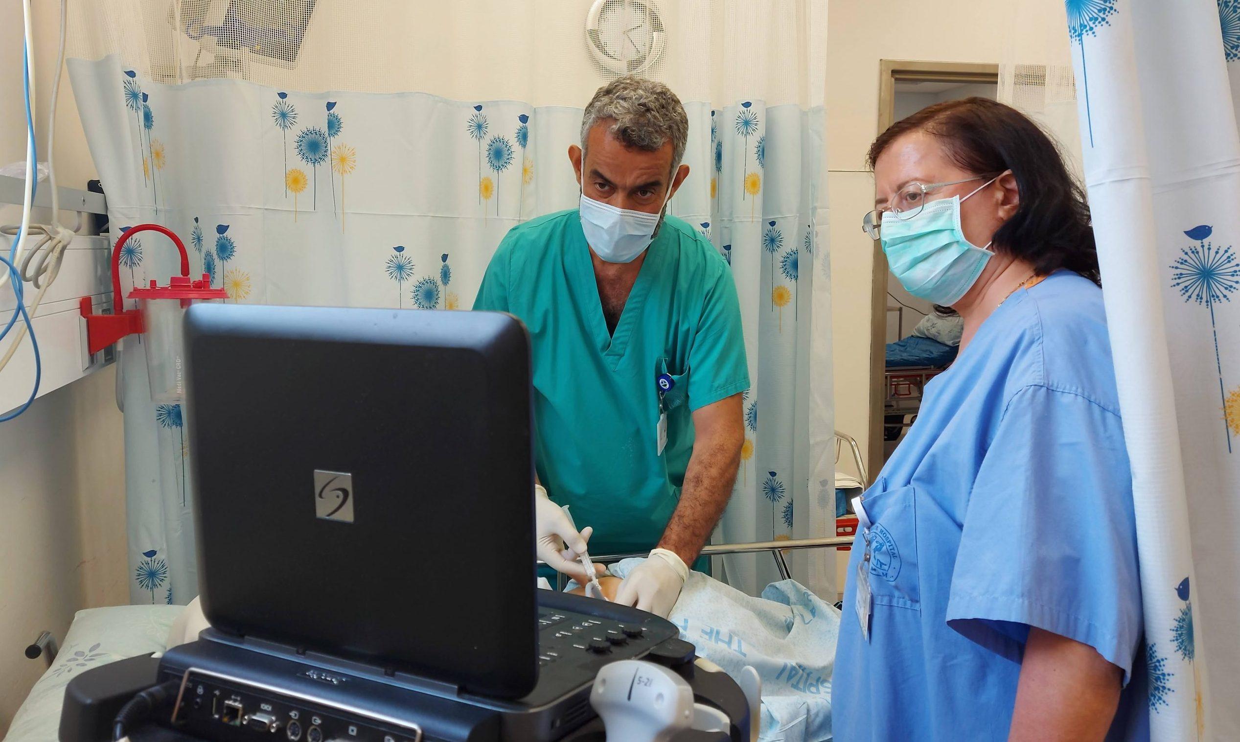 لا آلام مزمنة بعد الآن بعد افتتاح عيادة علاج الألم في مستشفى الناصرة الانجليزي