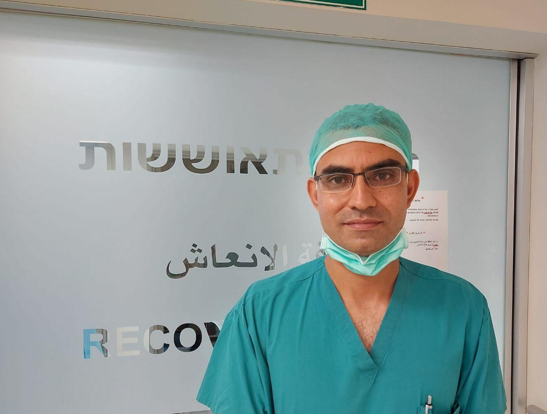 خدمة جديدة وفريدة في قسم جراحة العظام: وحدة جراحة الكتف ومرفق اليد في مستشفى الناصرة الإنجليزي