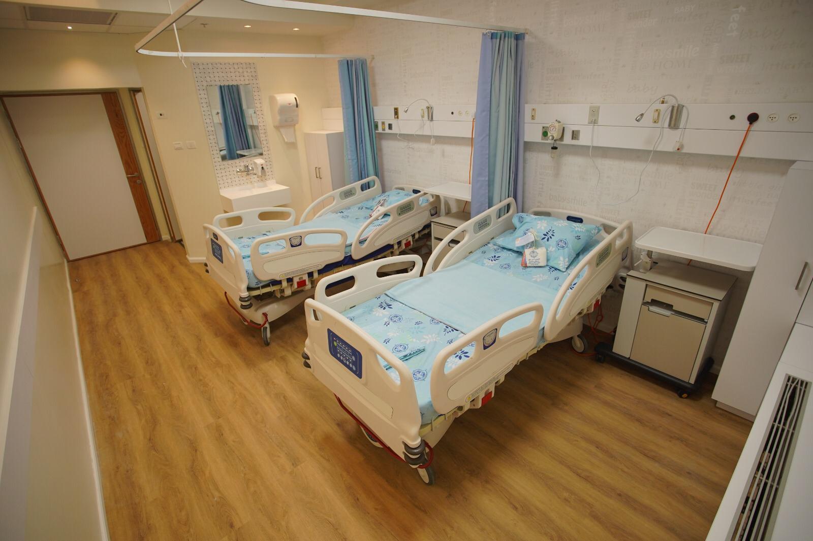 استقبال الوالدات في قسم الولادة الأجدد في الناصرة والشمال في مستشفى الناصرة- الإنجليزي